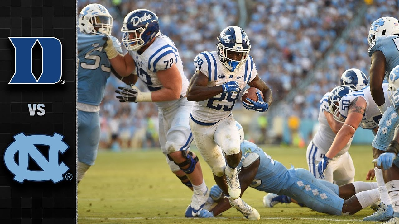 Duke Vs North Carolina Football Highlights 2017 Youtube