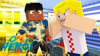 Minecraft : O HERÓI - CONTEI O MEU SEGREDO, SOU SUPER HERÓI !! #07