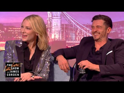 Cate Blanchett & Orlando Bloom Could Have Been a Thing  #LateLateLondon