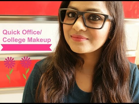 Quick Office/College Makeup Tutorial