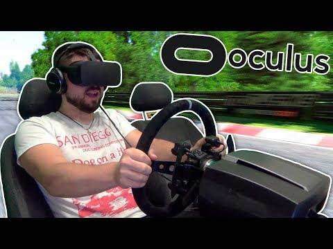 Детальный обзор Oculus Rift - намордник перенёсший меня на Nordschleife Nürburgring!