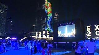 شاهد: إنطلاق العد التنازلي لمعرض إكسبو دبي 2020 بالأضواء والموسيقى…