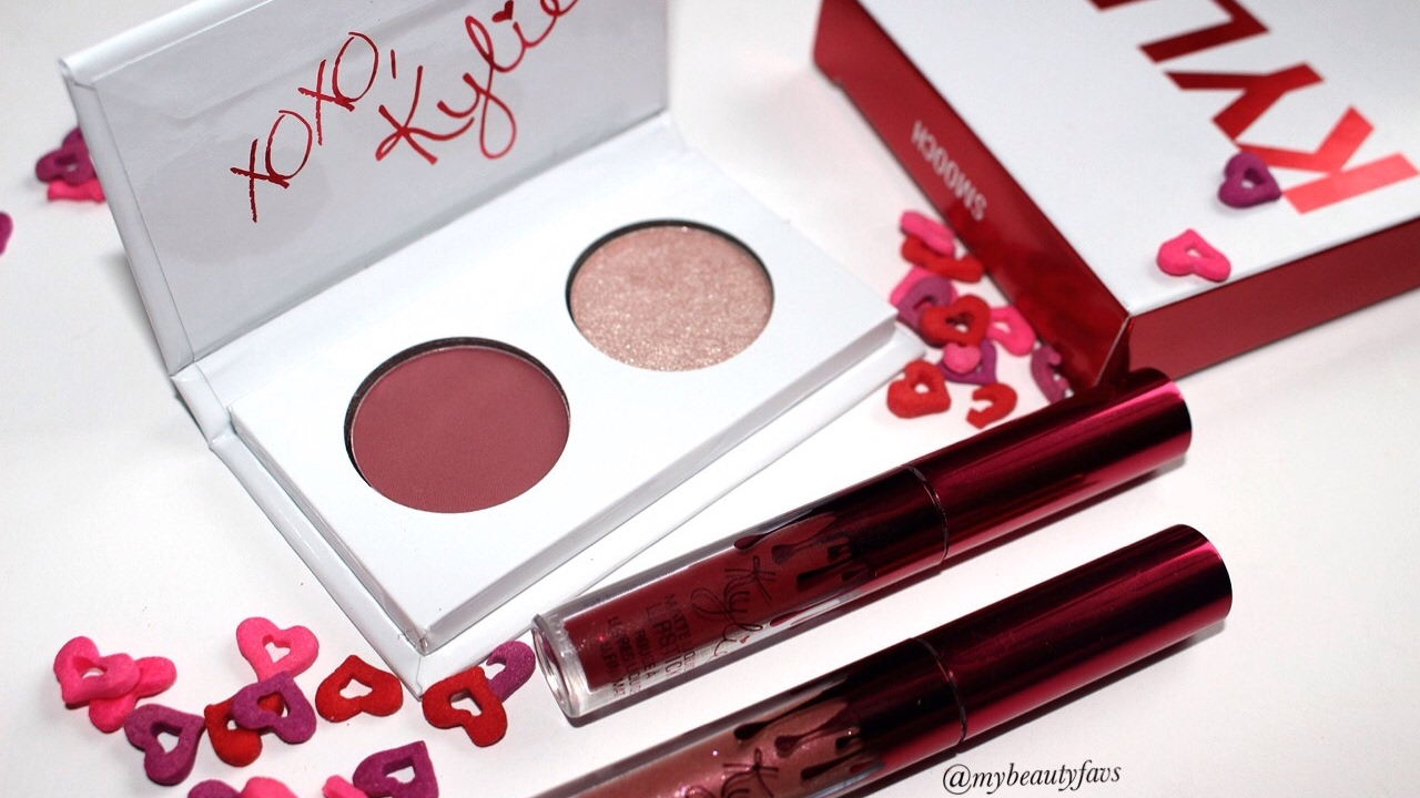 Eyeshadow Duo Valentine's Day Collection - Smooch by Kylie Cosmetics #7