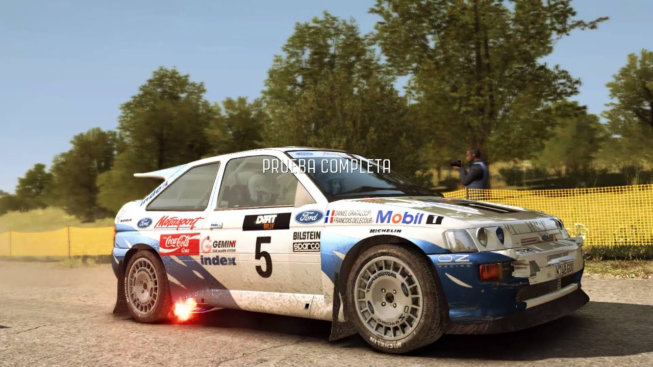 2016 Focus Rs >> Dirt Rally --- Ford Escort RS Cosworth --- Rally Alemania - YouTube
