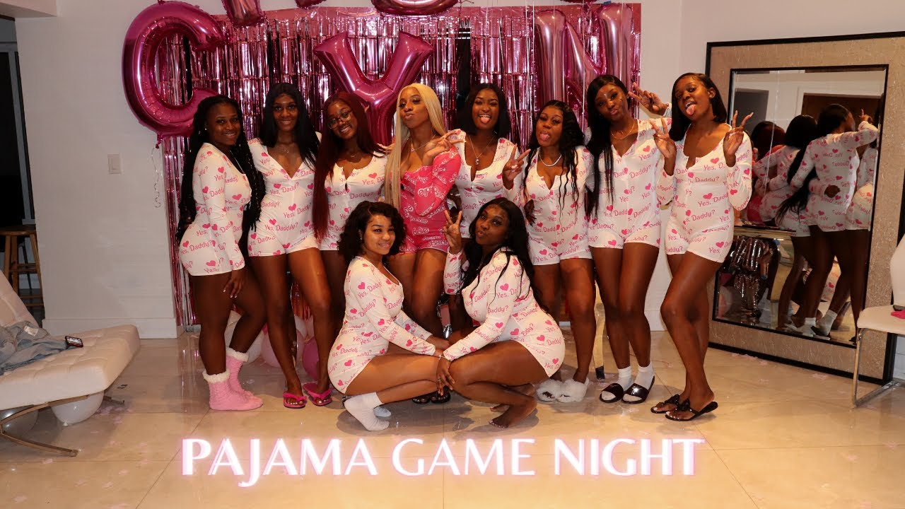 Download PAJAMA PARTY | Dinner & Game Night with the Girls💕