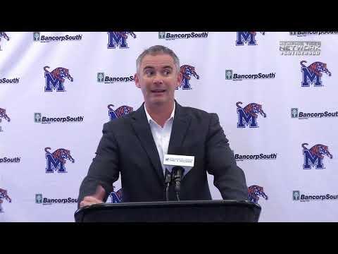 Memphis Football: Mike Norvell ECU Press Conference
