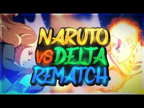 Hokage Naruto Vs Delta The Rematch!