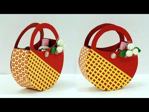 DIY Crafts : How to Make a Paper Gift Bag at Home   DIY Gift Bag