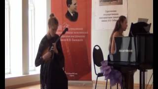 И.Тамарин, концерт для домры с оркестром 2, 3 части, соло Анастасия Захарова