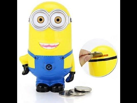 Minion Money Bank Klip2deal