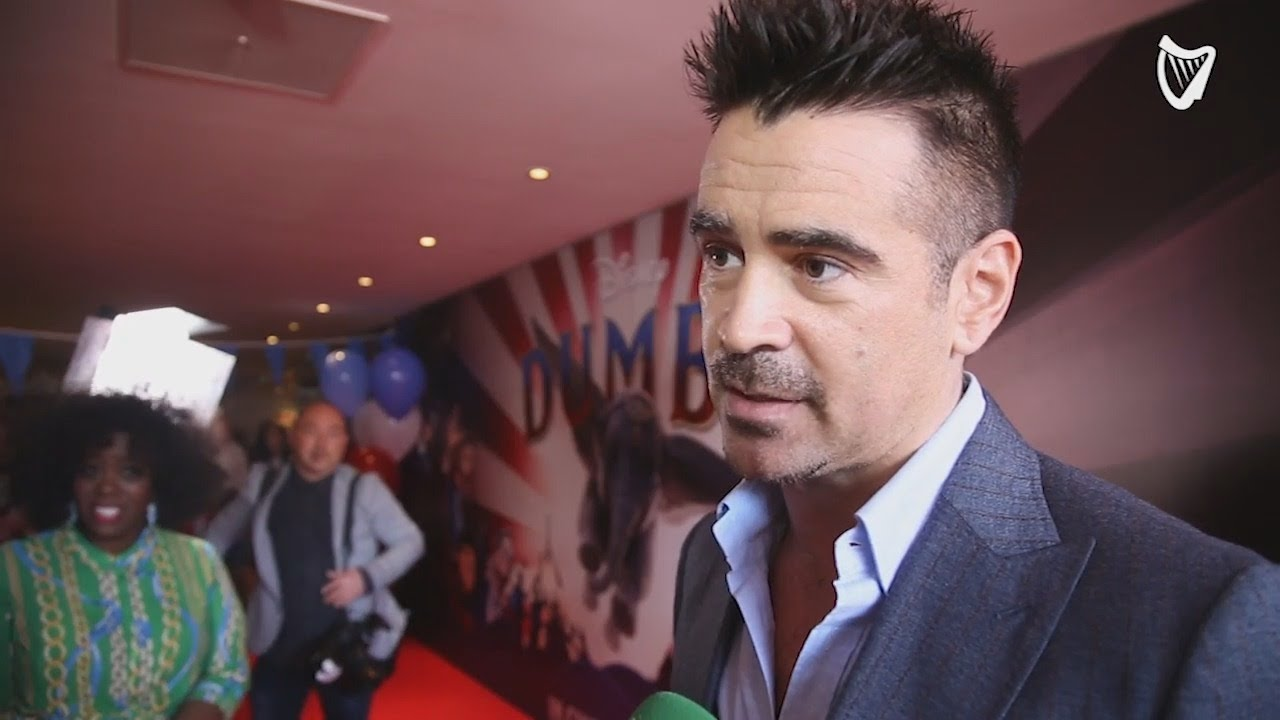 WATCH: Colin Farrell discusses family and working with Tim Burton at the Irish premiere of Dumbo