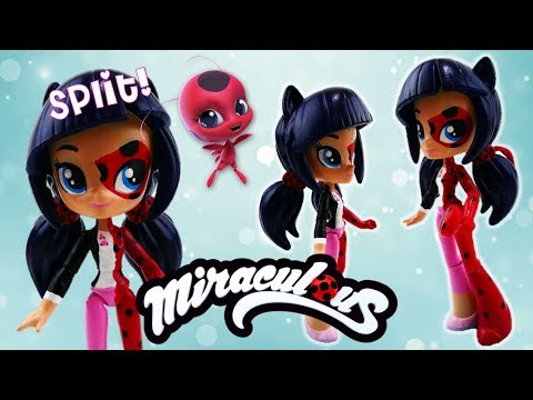 Miraculous Ladybug Marinette Transformation Equestria Girls Minis Custom