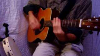 cover of Green Tambourine on acoustic guitar