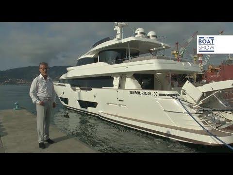 [ITA] FERRETTI Custom Line NAVETTA 28 - Prova - The Boat Show