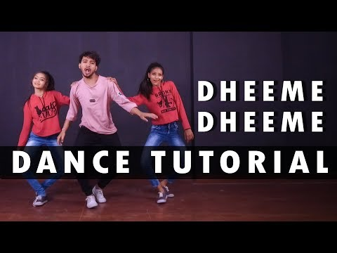 Dheeme Dheeme Dance Tutorial  | Step By Step | Vicky Patel Choreography