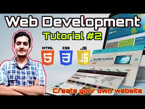 HTML Tutorial: Installing VS Code & Basic Structure Of HTML | Web Development Tutorials #2