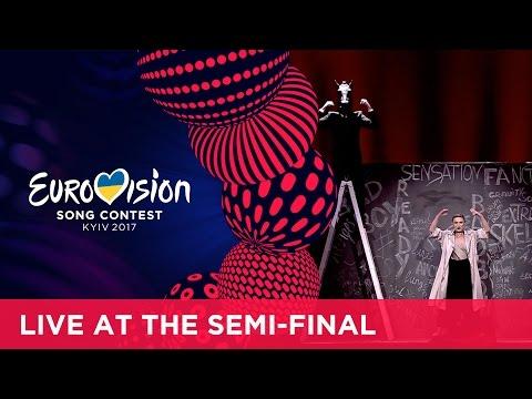 Dihaj - Skeletons (Azerbaijan) LIVE at the first Semi-Final