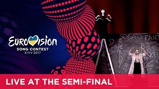 Dihaj - Skeletons (Azerbaijan) LIVE at the first Semi-Final