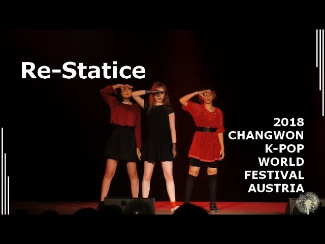 [2018 ChangFe Austria Finals] Re-Statice / Red Velvet (레드벨벳) - Peek-A-Boo (피카부)