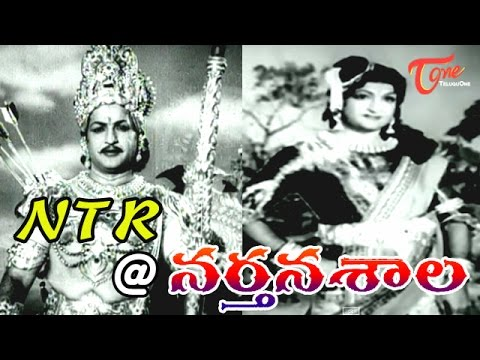 NTR as Arjuna / Bruhannala sequence from NARTHANASALA Movie