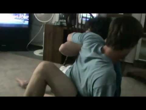 Garage wrestling