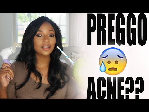 How I deal with Pregnancy Breakouts!