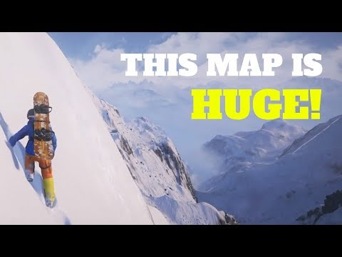 HOW BIG IS THE MAP In Steep? Walk Across The Map