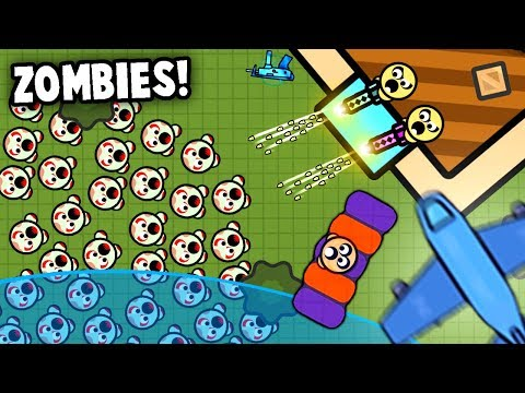 ZOMBIE HORDE Vs Legendary Duos Fort!  NEW Update (Zombsroyale.io - Fortnite.io)
