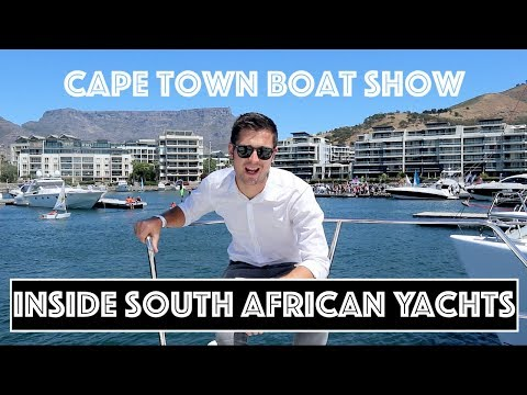 Can South Africa Build Yachts?   Cape Town Boat Show Tour
