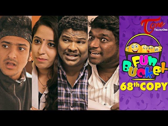 Fun Bucket | 68th Copy | Funny Videos | by Harsha Annavarapu | #TeluguComedyWebSeries