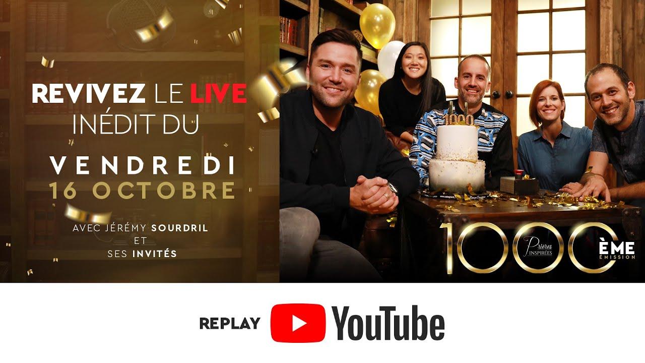 Revivez le LIVE - 1000è de Prières inspirées (Karambiri, Talingano, Wafo, Sourdril et 7 invités)