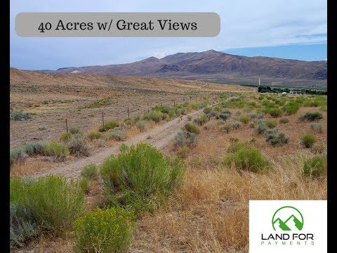 40 acres Elko with great views...Prices well below comps!