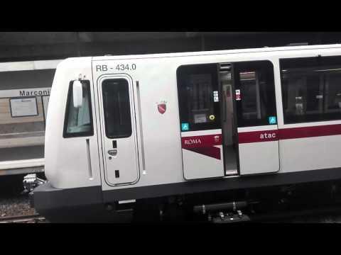 Metro B Roma - MB.433-434 in prova