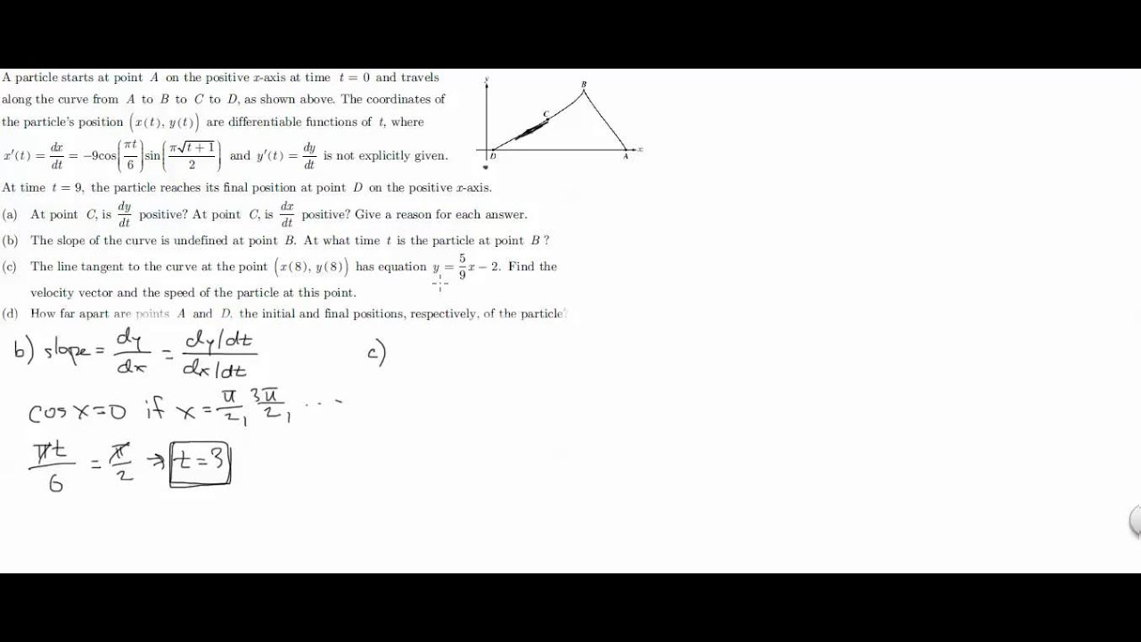 AP Calculus BC 2003 Form A #2 - YouTube