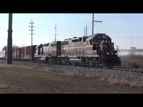 Louisville & Indiana CSX Paducah & Louisville Trains in the Louisville Area