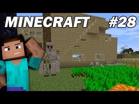 Minecraft survie fr on fait un golem de fer pour la - Minecraft golem de fer ...