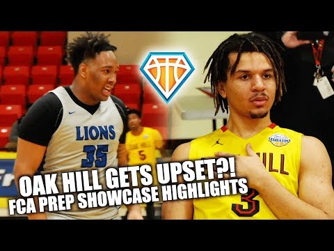 OAK HILL UPSET?! Cole Anthony vs Anderson Mirambeaux at FCA Prep Showcase