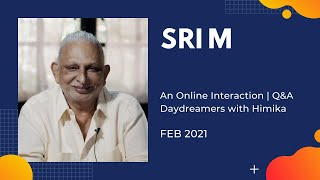 Download An Online Interaction   Q&A   Day Dreamers with Himika   Sri M   Feb 2021