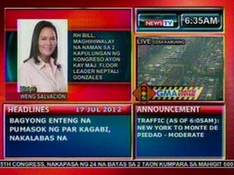 DB: Majority Floor Leader Gonzales: RH Bill, maghihiwalay na naman sa 2 kapulungan ng kongreso