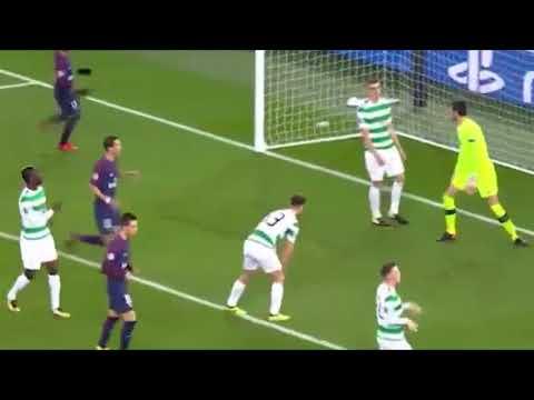 GOLAÇO Cavani - PSG 6 x 1 Celtic - Champions League - 22/11/2017