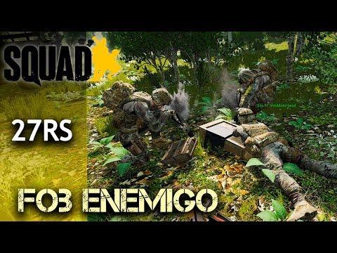 SQUAD | DESTRUYENDO FOB ENEMIGO - Gameplay Español Clan