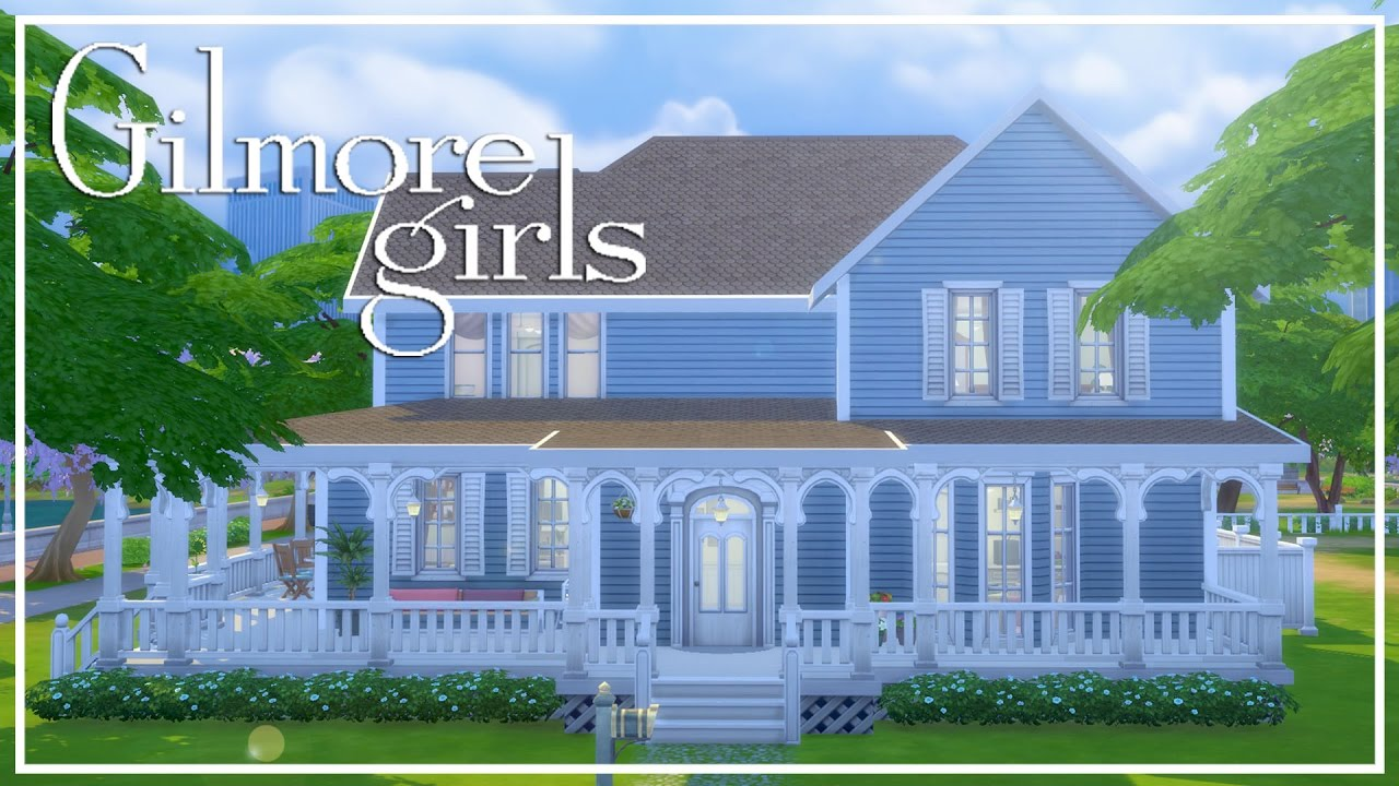 Gilmore Girls House gilmore girls house // the sims 4: speed build - youtube