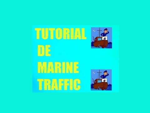 Tutorial Marine Traffic localizador de barcos