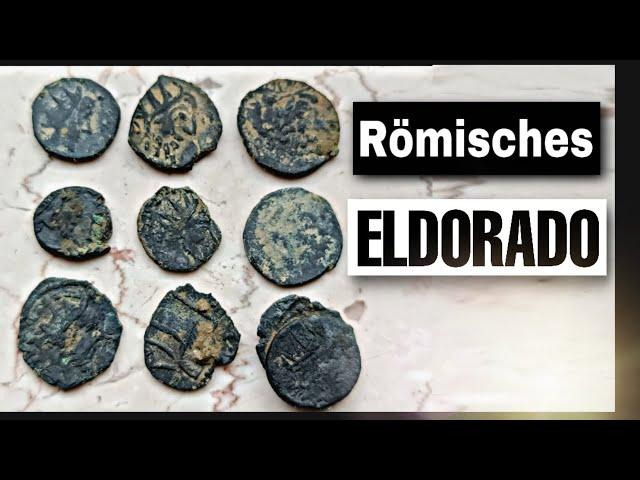 Römische Top MÜNZEN gefunden ! SONDELN im RÖMER Delirium | Schatzsuche Teil 1