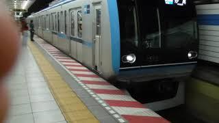 東京メトロ東西線1500系15101F普通妙典行き79S木場到着