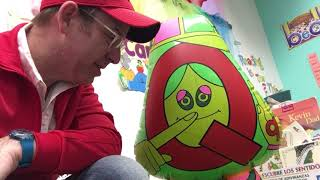 Letter People & Mr. C with Mr. Q use question / asking words