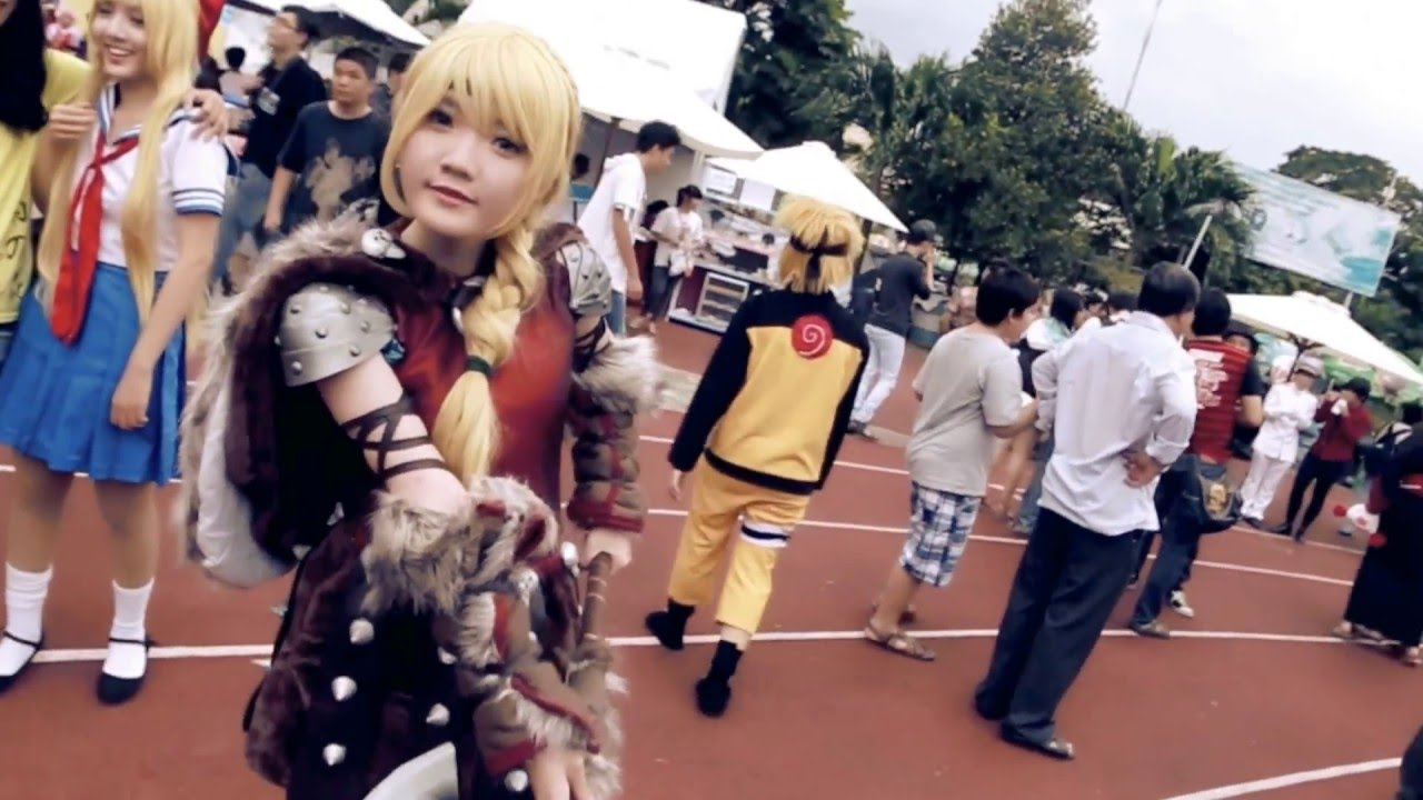 [Cosplay Video] Aki Matsuri 2014 - Ho Chi Minh city - YouTube