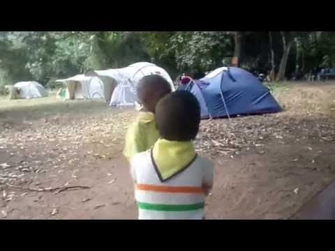 Au camp régional  2016 des Scouts et Guides du Congo (Région de Brazzaville)