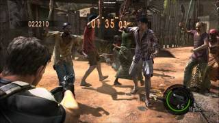 Resident Evil 5 ( 50 cent -- In Da Club  BassHunter Remix.)wmv