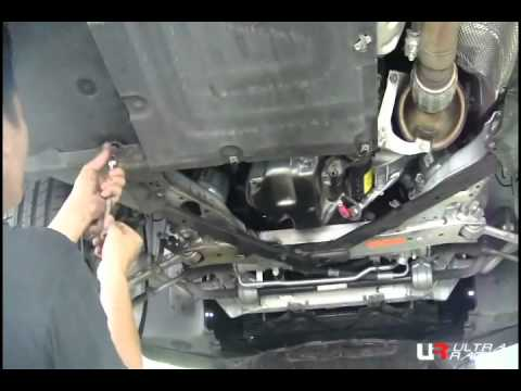 Bmw E90 Install Front Lower Bar Youtube